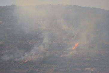 גליל: כבאים מנעו את שריפת היישוב חרשים