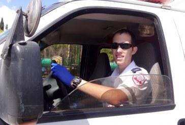 """אמבולנס חדש לזכר המתנדב שנפל ב""""צוק איתן"""""""