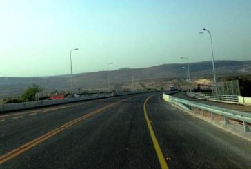 צפון: נפתח גשר המוביל הארצי בכביש 65