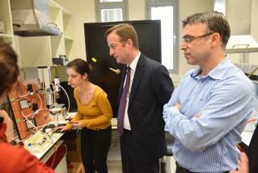 """""""בריטניה גאה לשתף פעולה עם חוקרי הטכניון"""""""