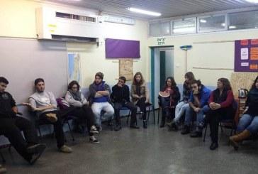 תלמידים נפגשו כדי לדבר על גל הטרור