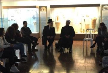 תלמידים נפגשו עם רב ושייח'