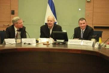 מפגש ישראלי-גרמני בכנסת