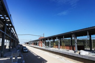 נשלמות עבודות התשתית בתחנת הרכבת באחיהוד
