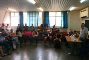 תלמידים נפגשו עם הטסטרים השובתים