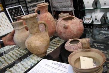 מאות עתיקות ללא רשיון נתפסו בירושלים