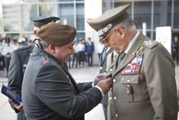 """אות כבוד לרמטכ""""ל צבא איטליה"""