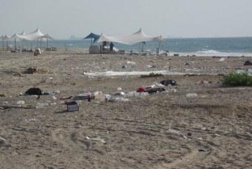 שיפור של רמת הניקיון בחופים