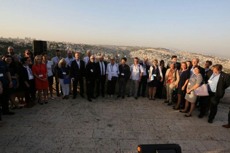שרי החינוך של מדינות ה OECD  בירושלים | צילום דוברות משרד החינוך