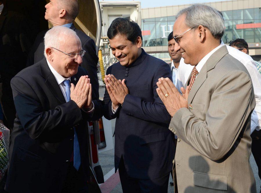 הודו מקבלת בברכה את נשיא המדינה