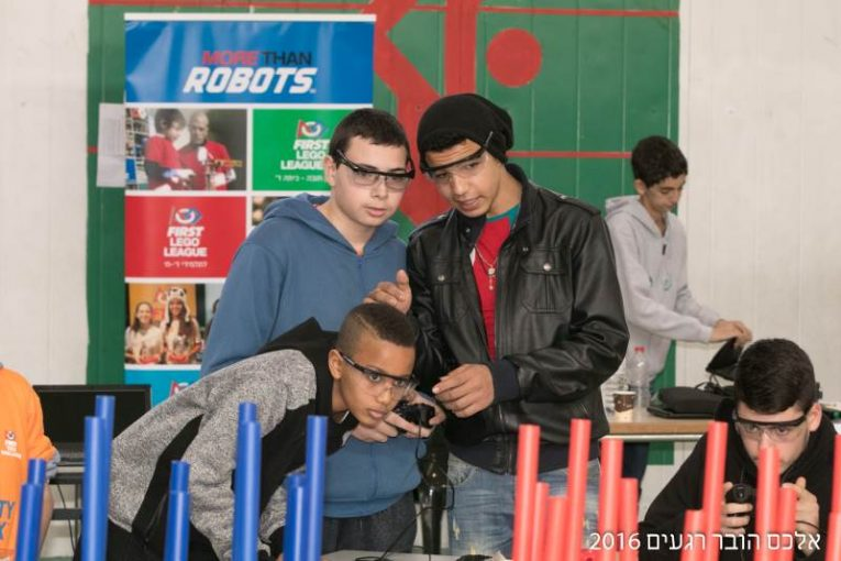 מארחים תחרות רובוטיקה ארצית וגם זוכים