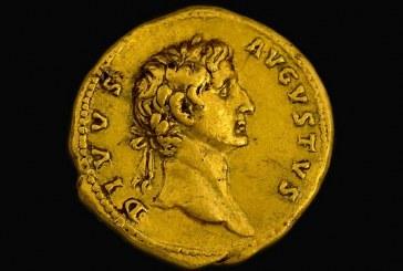 מטיילת מצאה מטבע זהב נדיר