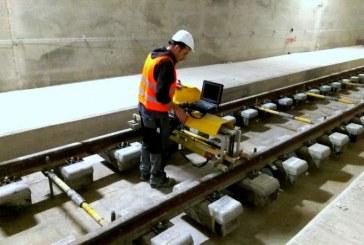 הרכבת תנוע על בטון
