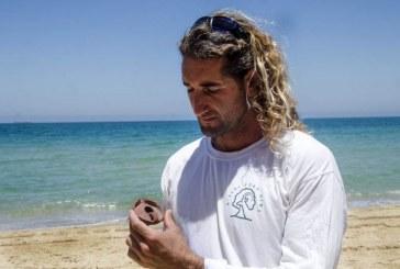מצא נר בן 900 שנים במהלך ריצת בוקר שגרתית