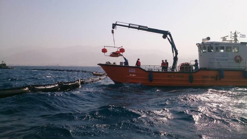 השבוע: תרגיל לאומי רחב היקף לטיפול בזיהום ים מנפט בים התיכון