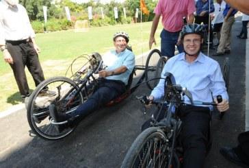 נחנך מרכז האופניים הראשון בישראל לבעלי צרכים מיוחדים