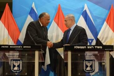 """""""מחויבות מצרים לתמוך בהסכם צודק לסכסוך הפלסטיני-ישראלי איתנה ויציבה"""""""