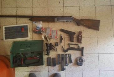 מאבק בנשק ובהימורים בלתי חוקיים
