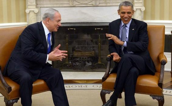 ראש הממשלה עם נשיא ארצות הברית | צילום לעמ
