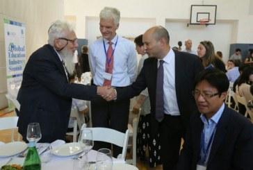מפגש הפסגה של שרי החינוך מכל רחבי העולם בירושלים