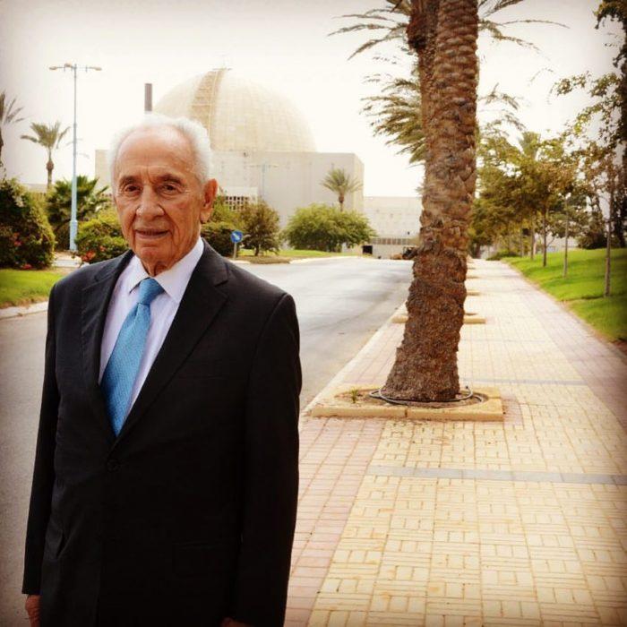"""הכור הגרעיני ייקרא ע""""ש שמעון פרס"""
